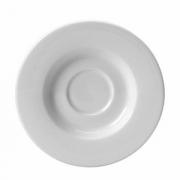 Блюдце «Монако Вайт«d=16см фарфор