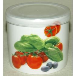 Банка для сыпучих продуктов «Помидоры» 12 см (0,75 л)