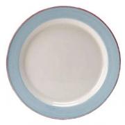 Блюдце «Рио Блю», фарфор, D=14.5см, белый,синий