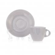 Чашка с блюдцем (70 мл+12 см) «Вариоус Cтретто»