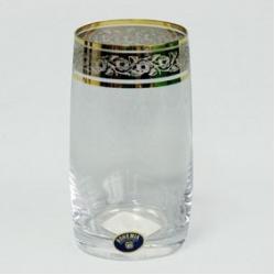 Набор стаканов 1/6 «Идеал» 380 мл; виски; панто платина