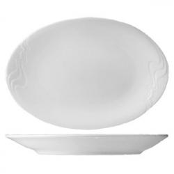 Блюдо овал «Мелодия» 32см фарфор