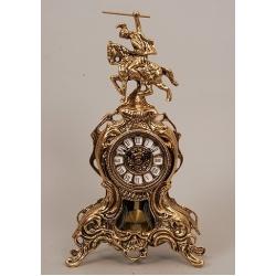 Часы «Всадник» с маятником 38х20 см.