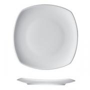 Тарелка квадратная «Опшенс», фарфор, L=21,B=21см, белый