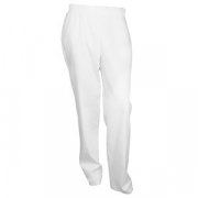 Брюки с карманами 54размер, твил, белый