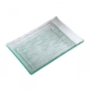 Блюдо для суши «Криэйшнс» «Криэйшнс», стекло, L=28,B=20см, прозр.