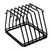 Подставка-сушилка для досок(6 отдел.); сталь нерж.,пластик