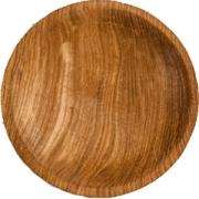 Тарелка «Круг» светлый дуб
