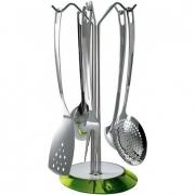 Набор кухонных аксессуаров Casa Bugatti Glamour ø17см (зеленый)