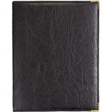 Папка-меню на винтах H=7, L=24, B=20см; черный