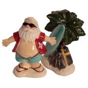 Набор для специй 9 см Дед Мороз на Гавайях