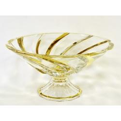 Ваза для фруктов 18х36 см. «Пиза золото»