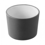 Форма для запекан.; фарфор; 150мл; D=75,H=50мм; белый