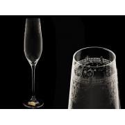 Бокал для шампанского Celebration, Европейский декор (набор 6 шт.)