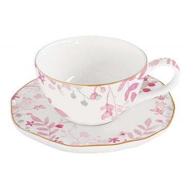 Чашка с блюдцем Парадайз без индивидуальной упаковки