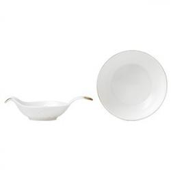 Сито для чая с блюдцем «Пикадилли», фарфор, D=10см