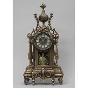 Часы с маятником каштан 44х21 см.