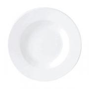 Тарелка для пасты «Рио Блю», фарфор, D=27см, белый,синий