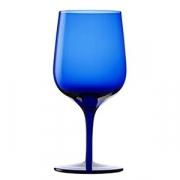Бокал для воды «Грандэзза», хр.стекло, 340мл, D=77,H=164мм, синий