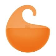 Органайзер/корзина для ванны SURF Koziol 65 х 216 х 253мм (прозрачный оранжевый)