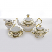 Сервиз чайный на 6 перс. 15 пред. «Ангелика 814»