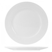 Тарелка мелкая «Кунстверк», фарфор, D=20,H=2см, белый