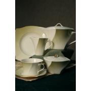 Сервиз чайный 23 предмета «Дюк оливковый»