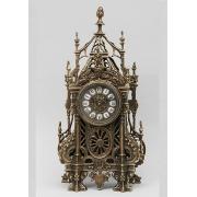 Часы «С ландышами» каштан 46х24 см.