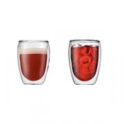 Набор термобокалов «Павина» [2шт], стекло, 360мл, прозр.