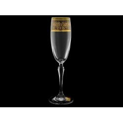 Бокал для шампанского «Люция«Верхний кракелюр»