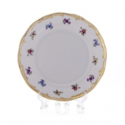 Набор глубоких тарелок 24 см. 6 шт. «Мейсенский цветок»
