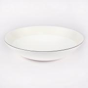 Набор 6 тарелок суповых 21см «Жемчужная роза»