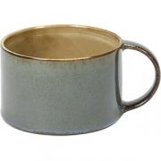 Чашка кофейная D=8, H=5.1см; серый, голуб.