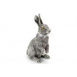Статуэтка «Кролик» серебряная 17 см