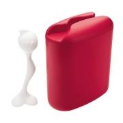 Контейнер для хранения продуктов «Хот Стаф» (HOT STUFF) Koziol 8,5 x 17 x 20см (красный)