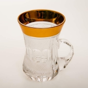 Набор чайный с ручкой «Мозер Армуда 40013» 170 мл. 6 шт