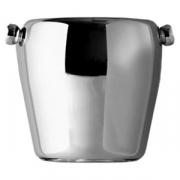 Емкость для льда «Проотель», сталь нерж., 950мл, D=11/9,H=11см, металлич.