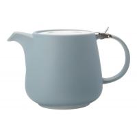 Чайник с ситечком Оттенки (голубой) в инд.упаковке