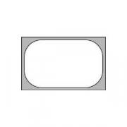 Гастроемкость (1/1), пластик, H=15,L=53,B=32.5см