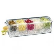 Контейнер для фруктов 5 отд.с емкост. для льда