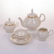 """Сервиз чайный """"Бернадот 500012 Ивори"""" на 6 персон 15 предметов"""