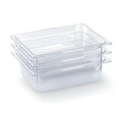 Гастроемкость 1/6*15см, пластик, прозрачн.