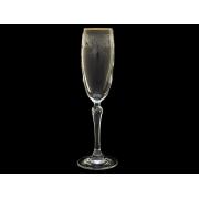 Бокал для шампанского Люция, Бесцветные тюльпаны