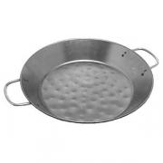 Сковорода для паэльи 2ручки; сталь; D=400,H=49мм