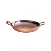 Сковорода для омлета, медь, D=26,H=5см