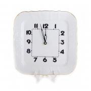 Часы настенные /квадратные 26см. «Бернадот белый 311011»
