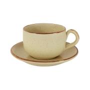 Чашка с блюдцем Rustico, большая