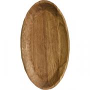 Тарелка «Яйцо» светлый дуб