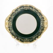 Блюдо круглое 28 см «Ювел зеленый»