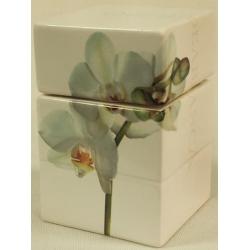 Банка для сыпучих продуктов 15см «Орхидея»